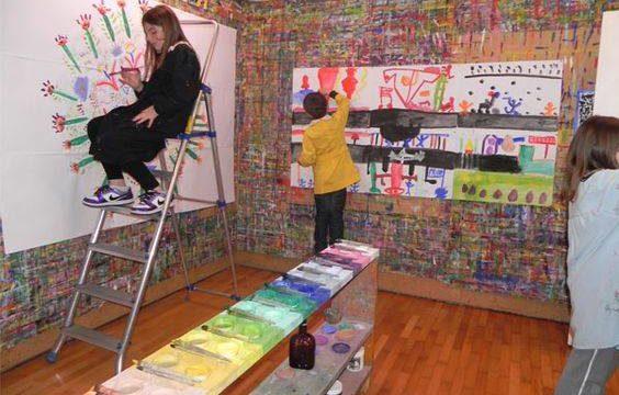 Le jeu de peindre ( Arno Stern)